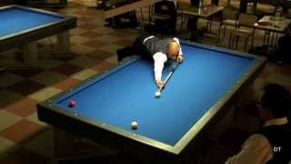 getlinkyoutube.com-Billard 1 Bande PETIT VS GERIMONT
