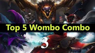 getlinkyoutube.com-Top 5 Wombo Combo League Of Legends #03   Best League Of Legends Wombo Combo compilation