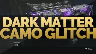 "getlinkyoutube.com-Black Ops 3: ""DARK MATTER CAMO Glitch"" How To Get ""DARK MATTER"" On Every Weapons Glitch! (COD BO3)"