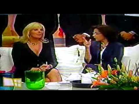 MARGARITA GRALIA EN VENTANEANDO COMO PAZ (VIDEO)