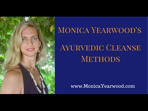 Ayurvedic Cleanse Methods