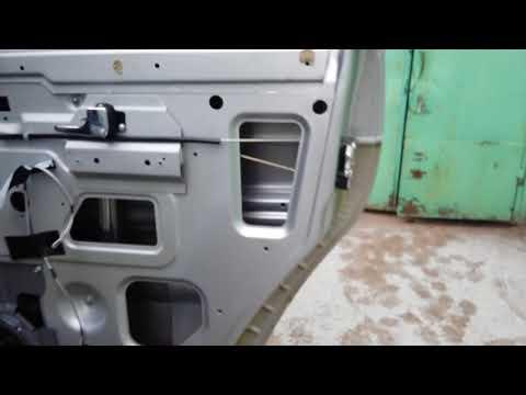 Ремонт плохого открытия боковой двери УАЗ патриот регулировка, снятие обшивки двери