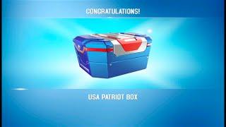 getlinkyoutube.com-Asphalt 8: PRO BOX - USA Patriot Box (60 Cards) Reveal 07.05.2015