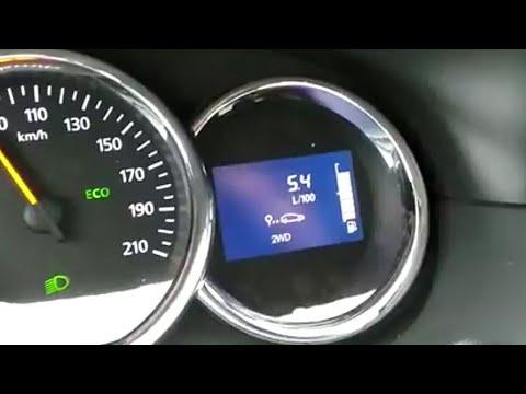 PRO Устранение зависания датчика топлива на Renault Duster