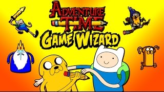 getlinkyoutube.com-Adventure Time Game Wizard - Draw Your Own Adventure Time Games Gameplay Walkthrough Part 4