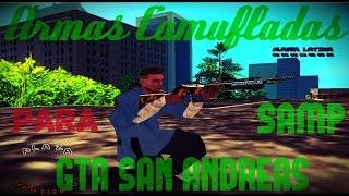 getlinkyoutube.com-PACK de ARMAS CAMUFLADAS para GTA SAN ANDREAS/SAMP