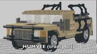 getlinkyoutube.com-Lego military vehicles
