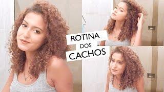 getlinkyoutube.com-Rotina dos Cachos: Da lavagem à finalização | Mari Morena