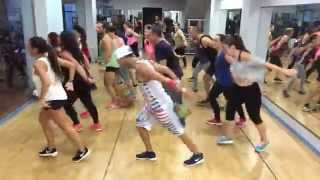 "getlinkyoutube.com-Zumba choreography Ricky Martin * ""La mordidita"" * Antonio Alpe * Zumba Fitness *"