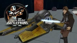 getlinkyoutube.com-Star Wars Battlefront II Mods (PC) HD: Space to Ground - Battle over Coruscant | Clone Wars