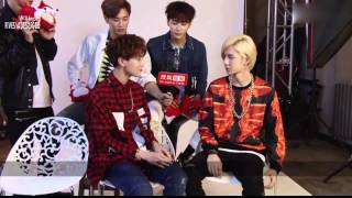 getlinkyoutube.com-[ENGSUB]SOHU Interview UNIQ:Close friends try emotional plays