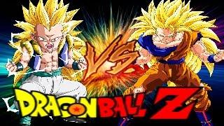 getlinkyoutube.com-Gotenks Ssj3 Vs Goku Ssj3 | ¿Quien Gana? | Teoría