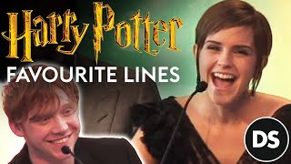 getlinkyoutube.com-Harry Potter cast and producers remember their favourite lines