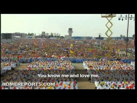 WYD 2011  Benedict XVI to the youth