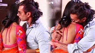getlinkyoutube.com-Karan Singh Grover and Jennifer Winget KISS & MAKE LOVE on Saraswatichandra's Set-- DON'T MISS IT !!