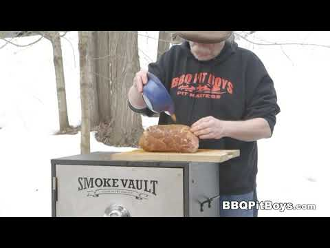 Pulled Pork Bacon Cheeseburgers recipe by the BBQ Pit Boys
