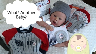 Expecting A New Baby - Reborn Pregnant - Haul For New Life Like Newborn Doll