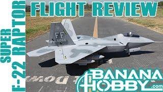 getlinkyoutube.com-Super F-22 Raptor BlitzRCWorks | Flight Review | EDF Fighter Jet