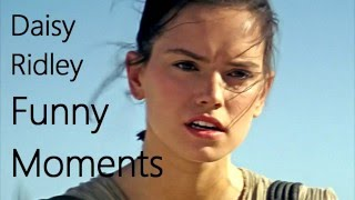 getlinkyoutube.com-Daisy Ridley Funny Moments