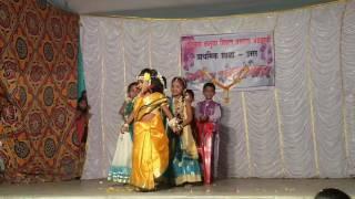Harshala che haldi la  Annual Function School Usar. By- Viniket Shinde