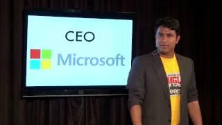 getlinkyoutube.com-Satya Nadella CEO Microsoft - Son Of Abish