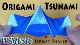 getlinkyoutube.com-Origami Tsunami by Jeremy Shafer