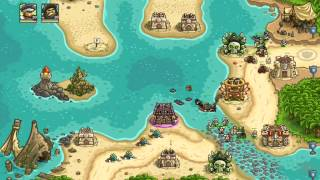 getlinkyoutube.com-Kingdom Rush Frontiers Walkthrough Level 17 Storm Atoll [Normal] [3 Stars]