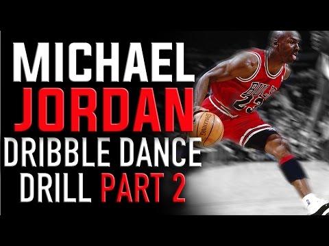Michael Jordan Dribble Dance Drill (Part 2): Basketball Drills