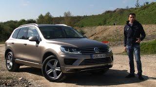 """getlinkyoutube.com-Volkswagen Touareg 2015   Il SUV di lusso che non si fa """"notare"""""""