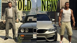getlinkyoutube.com-GTA 5 Real Car Mods OLD VS NEW Cars
