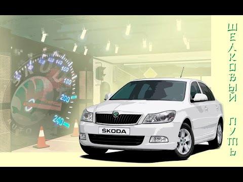 ВидеоДневник Skoda Octavia A5. Светодиодные лампы в габариты. Какие лампы не стоит брать в Китае.