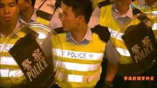 getlinkyoutube.com-佔領中環 - 佔中第十八天  示威者懷疑遭警員施過分武力 黎棟國:跟進處理