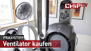 getlinkyoutube.com-Kaufberatung Ventilatoren - Praxis-Test deutsch | CHIP