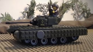 "getlinkyoutube.com-lego ww2: ""JACKAL"" (An animation inspired by Fury and World of Tanks)"