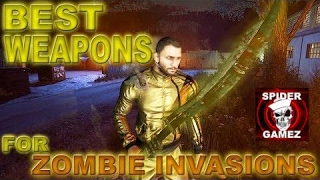 Dying Light - BEST WEAPONS FOR KILLING NIGHT HUNTERS (Best Weapons For Zombie Invasions) PVP WEAPONS