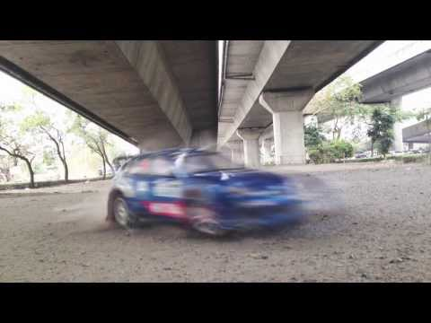 Tamiya Rc Car Rally : Scale 1/10 : Thailand : body Subaru