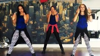"getlinkyoutube.com-""Fireball"" by Pitbull - Dance Fitness Choreography"