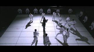 أقوى قتال بالعالم !!! مقاتل كونغ فو ضد عشر مقاتلين كاراتيه !!! +18