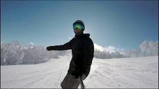 Snowboarding Japan 2018 | Moiwa | Niseko | Rusutsu | GoPro Hero 5 | Karma Grip