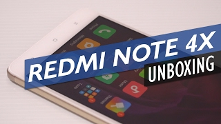 Xiaomi Redmi Note 4X Unboxing And Preview