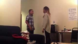 getlinkyoutube.com-Candid Mobile- China Anne McClain- Candy Consequences