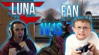 FaZe Luna vs Fan! (Crazy 1v1!)