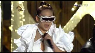 getlinkyoutube.com-Special Cover Stage by F(x) + SNSD + AS + Kara + 2NE1 + 4minutes @ SBS Gayo Daejun 2009