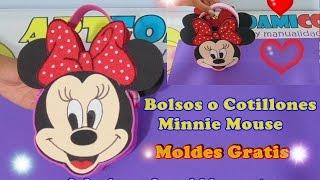 getlinkyoutube.com-BOLSOS O COTILLONES MINNIE MOUSE EN FOAMY PARA FIESTAS INFANTILES