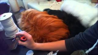 Fursuit tail tutorial part 1