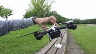getlinkyoutube.com-mjx x600 quick review + test flight with action cam attached