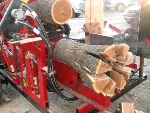 Homemade Firewood Processor Detroit Diesel Powered