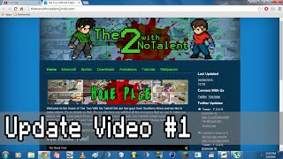 getlinkyoutube.com-150 Subs & Awesome Website | Update Video #1
