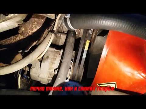 Где находится натяжной ролик ремня генератора в УАЗ 469