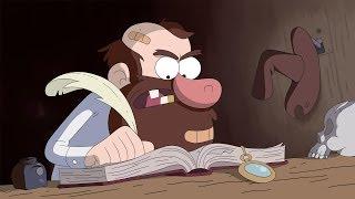 getlinkyoutube.com-Gravity Falls La Guía De Phil Sobre Lo Inexplicable Anomalía Nº 2: La leyenda del Gobblewonker